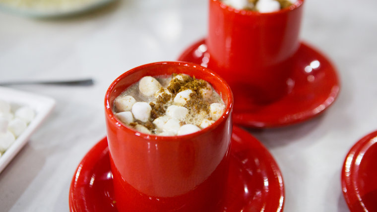 Zane Holmquist's Gingerbread Hot Chocolate