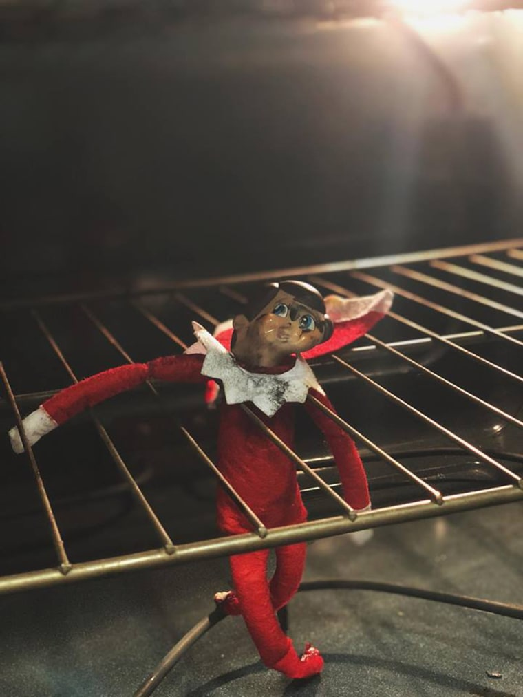 Elf on the Shelf thrown in oven goes viral