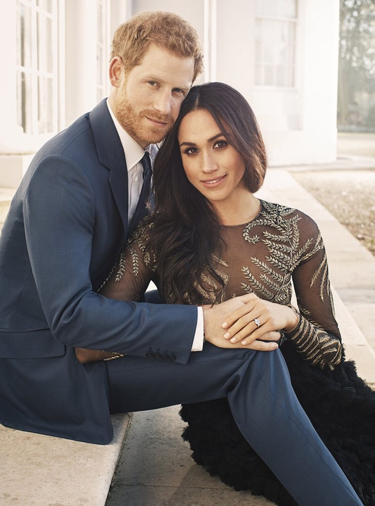 THE OFFICIAL ENGAGEMENT PHOTOGRAPHS OF PRINCE HARRY AND MS. MEGHAN MARKLE