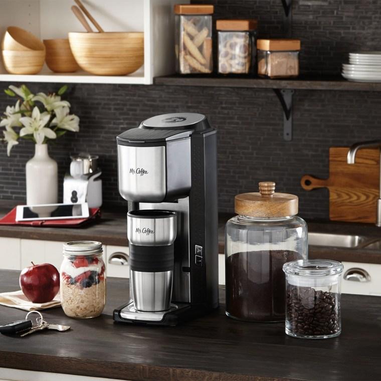 Mr Coffee Machine with Travel Mug