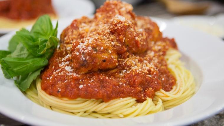 Katie Lee's Italian Chicken Meatballs, Mexican Chicken Meatballs, Red Curry Chicken Meatballs