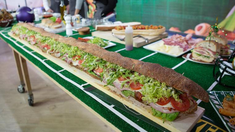 Anthony Scotto's Italian Hero Sandwich