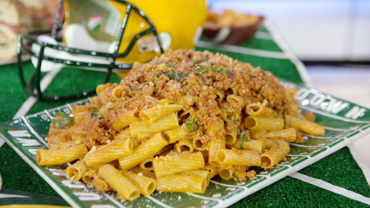 Anthony Scotto's Penne with Veal and Chicken Bolognese