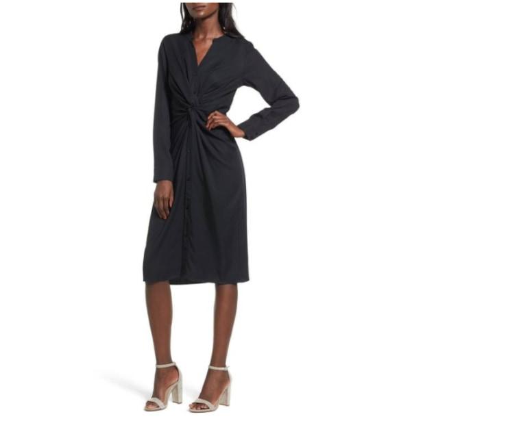 LBD wrap dress