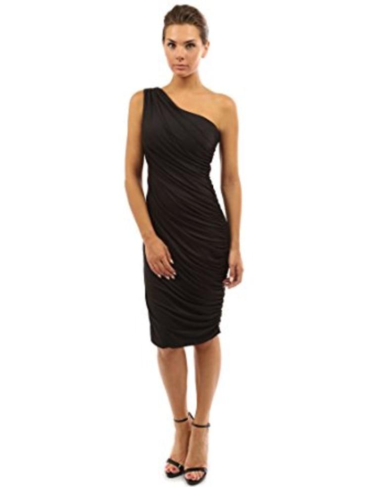 One shoulder dress Amazon