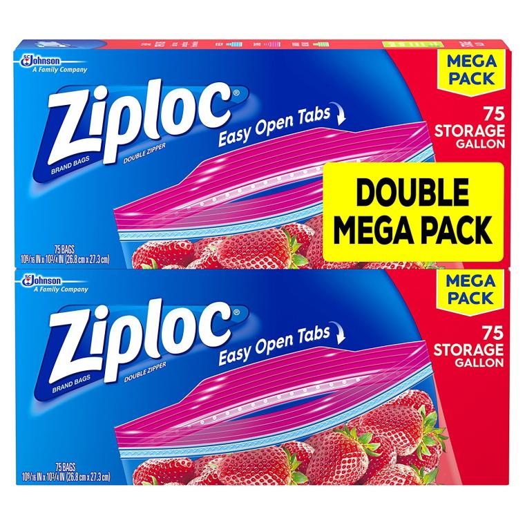 ziploc bags twin pack