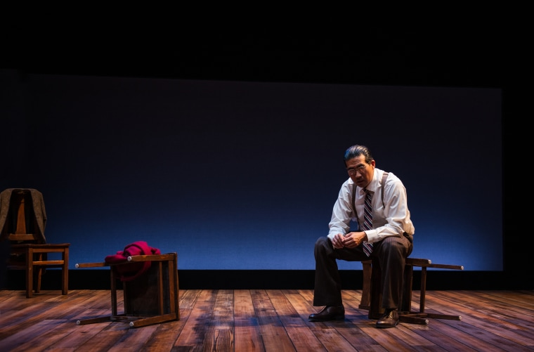 "Ryun Yu as Gordon Hirabayashi in ""Hold These Truths,"" which is scheduled to run Feb. 23 to April 8, 2018, at Arena Stage at the Mead Center for American Theater."