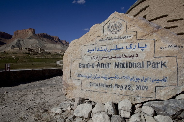 Image: Band-e-Amir Afghanistan's First National Park