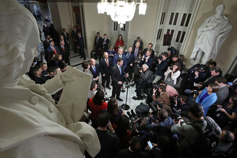 Image: Paul Ryan Addresses Media After House Tax Reform Vote