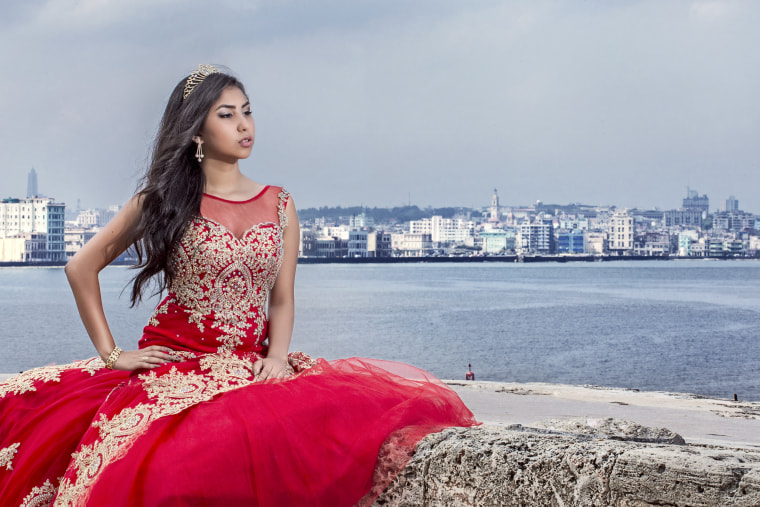 15-year-old Rosi who is featured in the new HBO documentary on quinces.