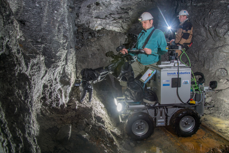 Robots are replacing humans in the world's mines. Here's why.