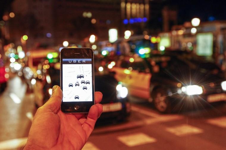 Image: Uber in Barcelona