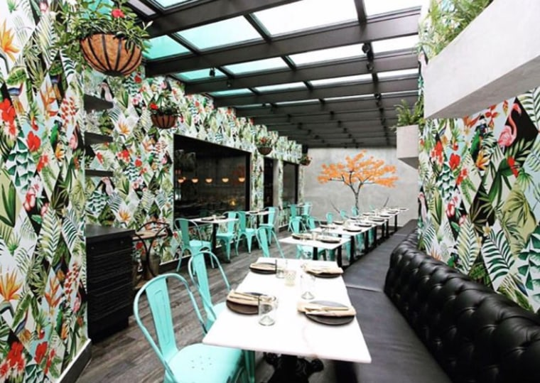 The atrium at the restaurant PB Ysla, in Santurce, Puerto Rico.  Miami-based acclaimed chef and restaurateur Jose Mendin finally opened a restaurant in his native island.