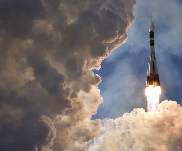 Image: BESTPIX - KAZAKHSTAN-RUSSIA-US-JAPAN-SPACE-ISS