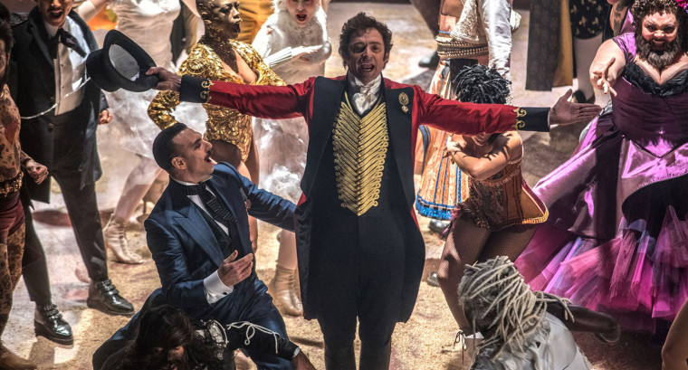 Image: Hugh Jackman in The Greatest Showman