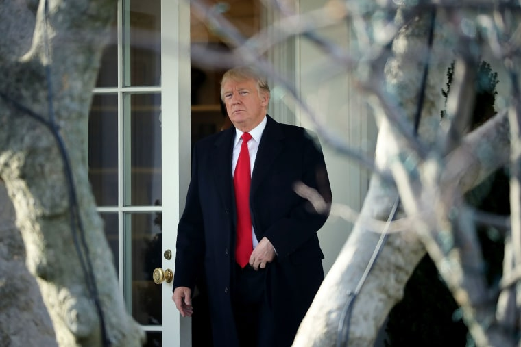 Image: President Trump Departs The White House En Route To Visit Walter Reed Hospital