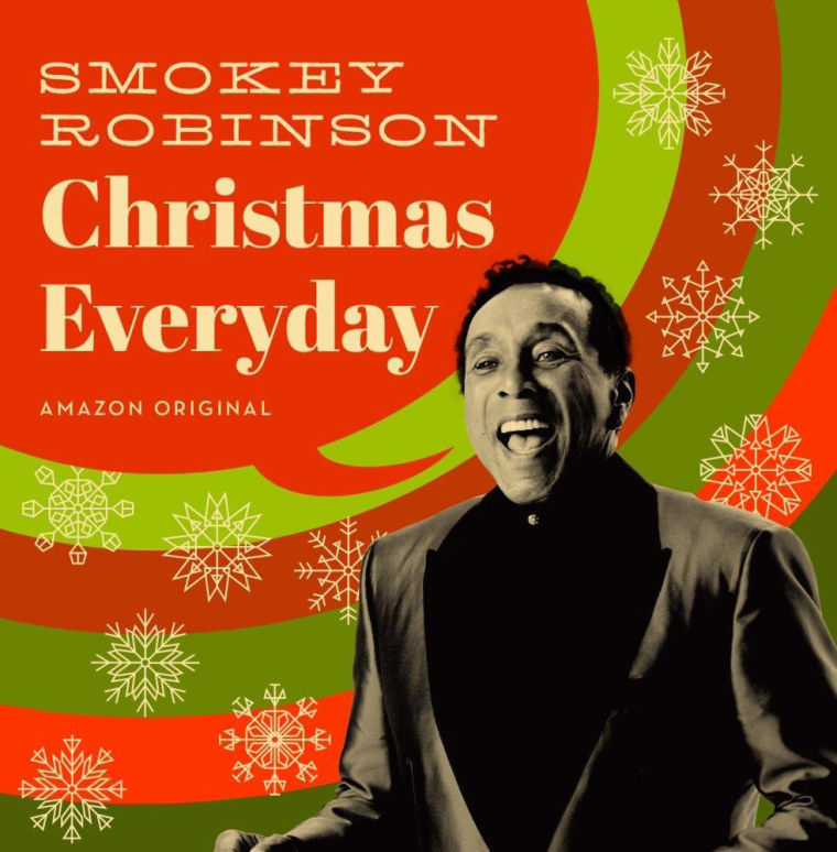 Smokey Robinson talks his first solo holiday album and today\'s music