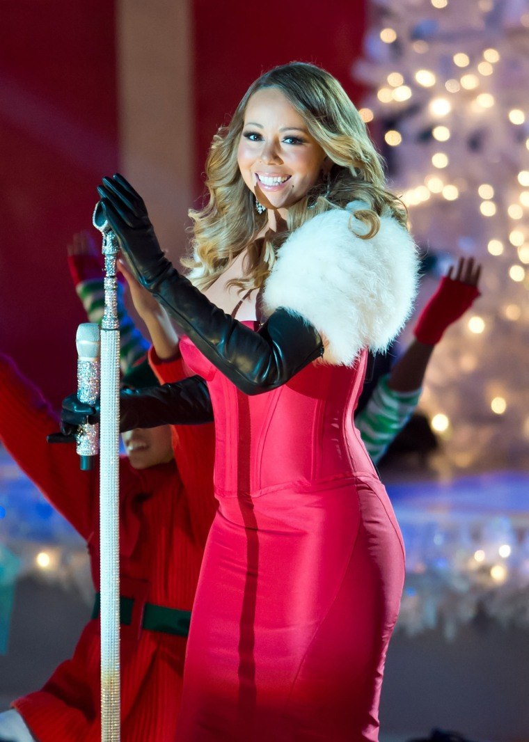 Image Singer Mariah Carey attends the 81st annual Rockefeller Center Christmas Tree Lighting  sc 1 st  NBC News & Mariah Carey to Smokey Robinson: Here is our holiday music guide