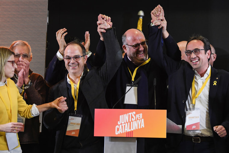 Image: Catalan Pro-Independence Parties Regain Parliamentary Majority