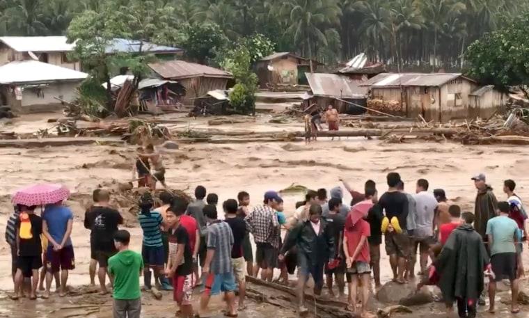 Image: Philippines storm