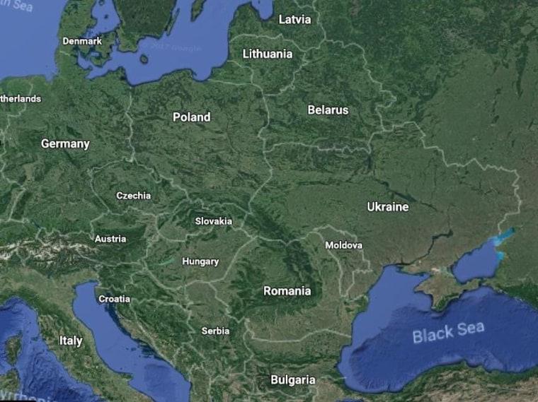 Image: Map of Ukraine
