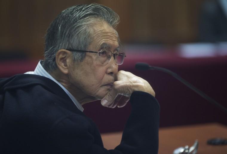 IMAGE: Alberto Fujimori in 2016
