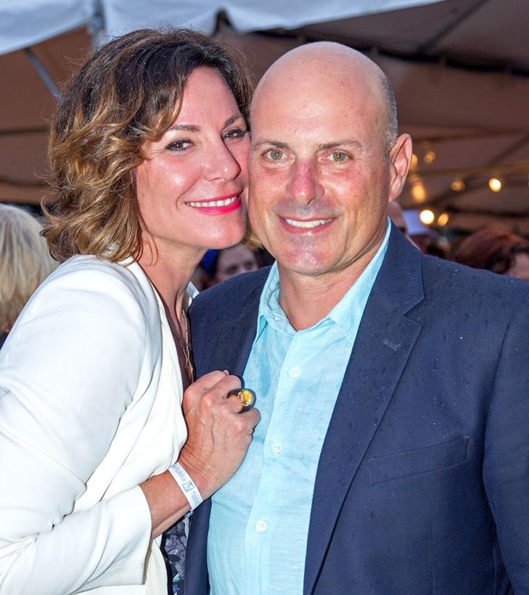 Luann de Lesseps and Tom D'Agostino Jr.