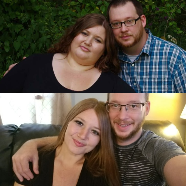After two years of weight loss, the Reeds frequently tweak their diet to continue to lose and build muscle.