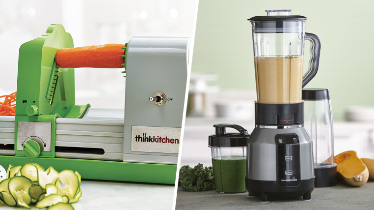 Think Kitchen Spiralizer & Rocket Blender