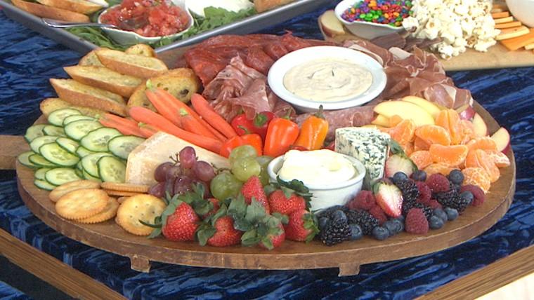 Kelsey Nixon's Ultimate Snack Board, Bruschetta Board, Sweet & Salty Board