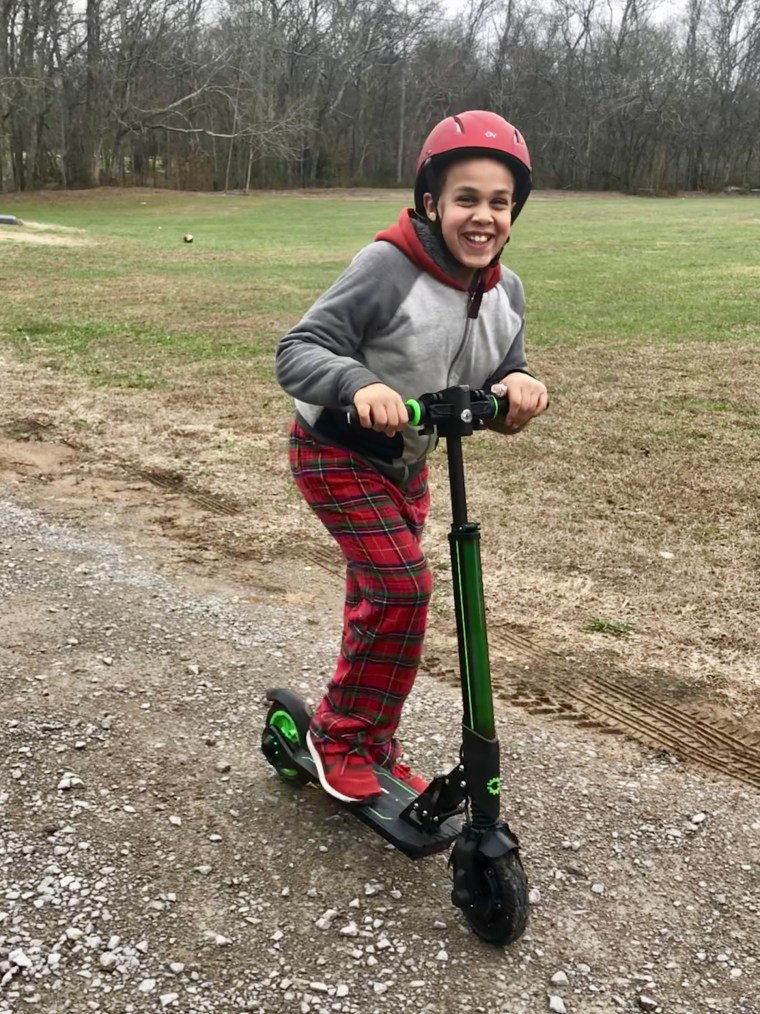Case Hogan, 10, has Hunter syndrome. After his mom, Melissa, learned there was no cure for the rare genetic disease she started looking for one.