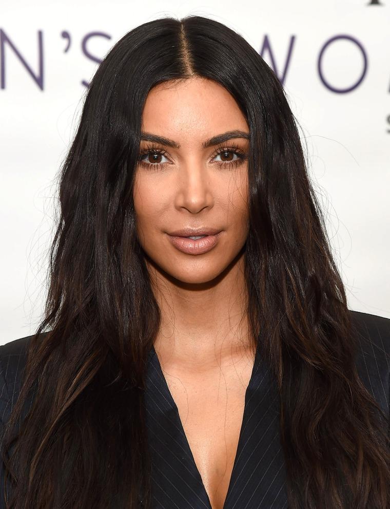 Kim Kardashian West hair