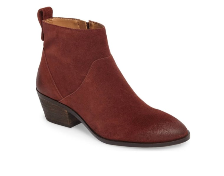 Sole Society boots in dark brown