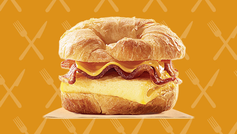 Burger King's Croissan'wich