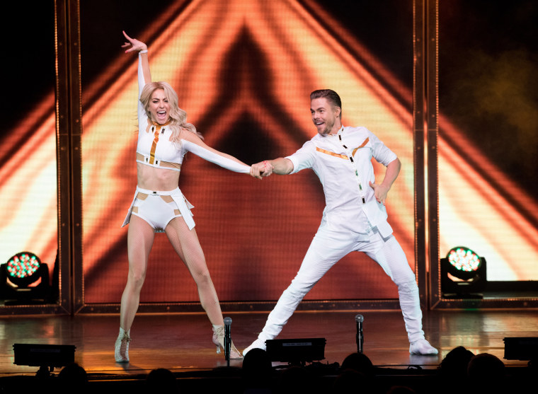 Image: Julianne And Derek Hough Move Beyond Live On Tour - New York, New York
