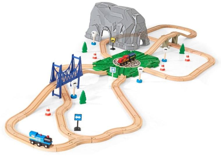 Imaginarium 72 Piece Big Mountain Train Set