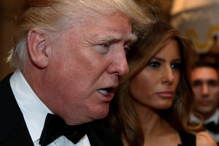 Image: Donald and Melania Trump