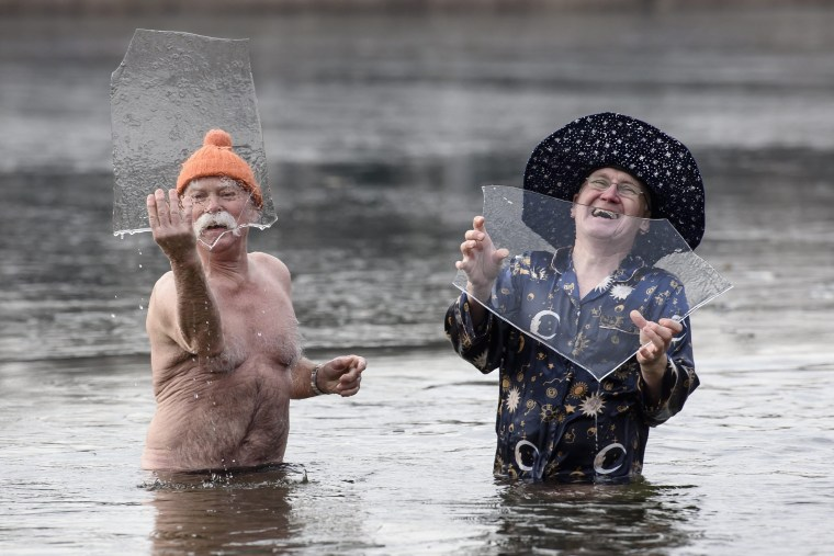 Image: New Year's Day Swim in Berlin