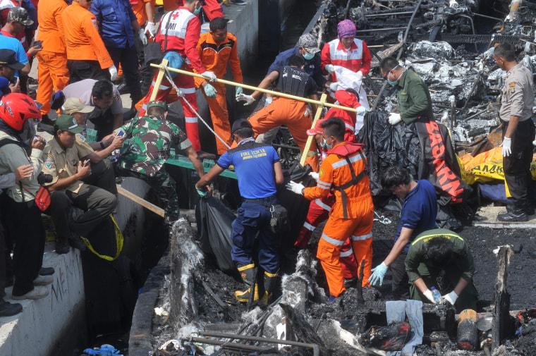 Image: INDONESIA-ACCIDENT-SEA