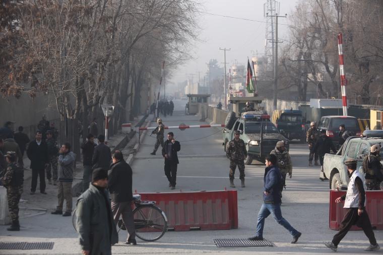 IMAGE: Kabul explosion scene