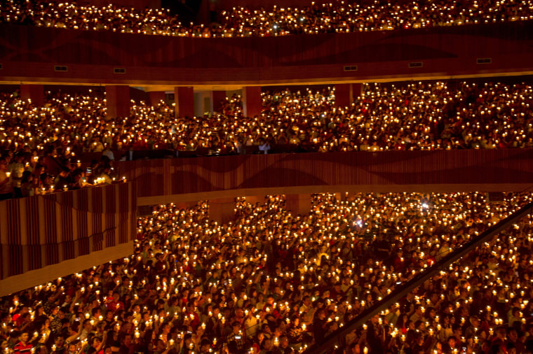 Image: TOPSHOT-INDONESIA-RELIGION-CHRISTMAS