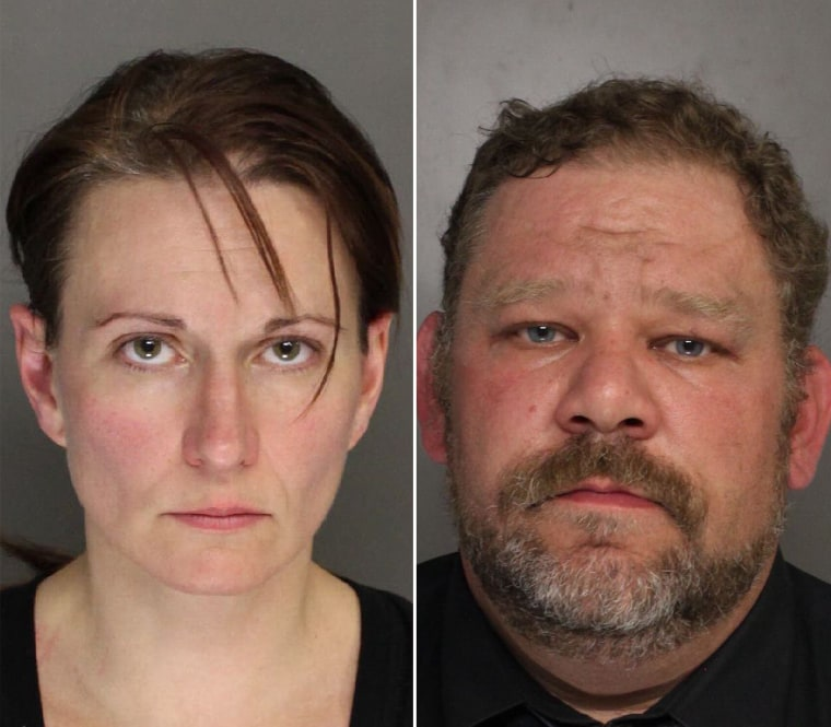 Image: Robin Transue (left) pled guilty to Solicitation to commit Aggravated Assault and Statutory Sexual Assault. Her husband, Keith Transue (right) pled guilty to Criminal Coercion.