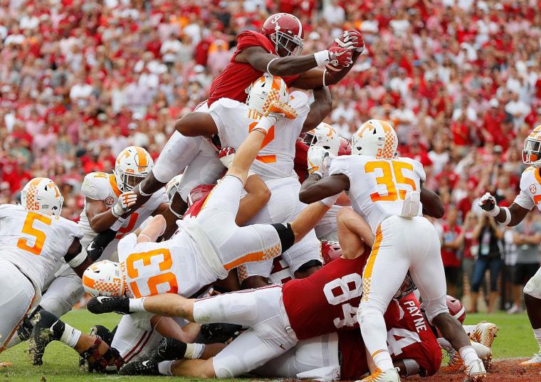 Image: Tennessee v Alabama