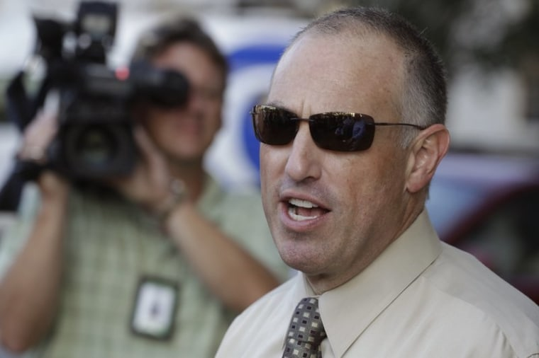 In this Aug. 2, 2012 file photo, Chicago defense attorney Steve Greenberg speaks to the media in Joliet, Ill.