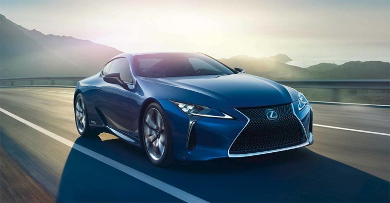 Lexus has traditionally favored more conservative designs, but the striking LC sports coupe is one of the most aggressively styled offerings in the luxury market.