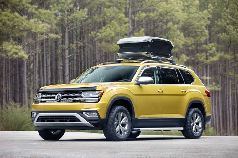 Volkswagen's seven-passenger Atlas offers plenty of room, plus the latest infotainment and safety gear.