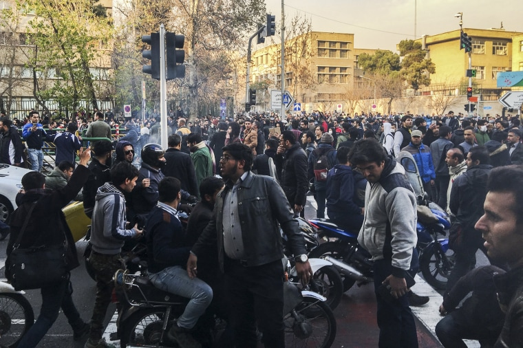 Image: Iranian protests