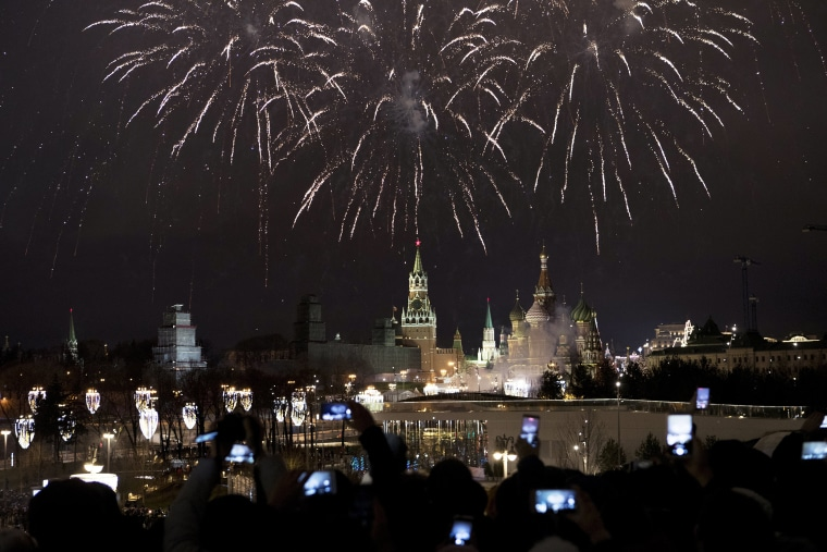Image: New Years Eve Kremlin