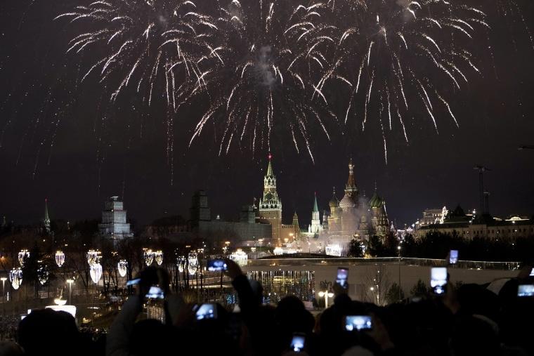 Image: New Years Eve Kremlin