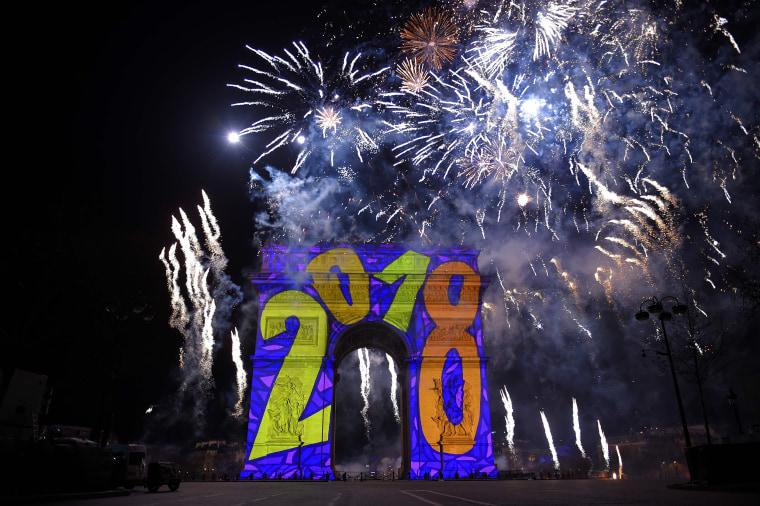 Image: New Years Celebration France